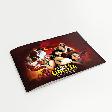 Africa Umoja Booklet Design - Hamilton Ontario Graphic design