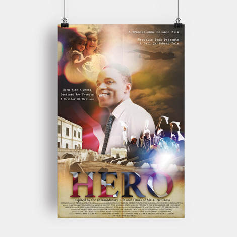 HERO Film - Hamilton Ontario Graphic design