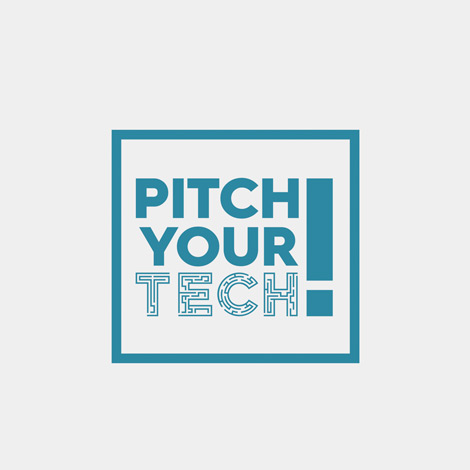 Pitch Your Tech Logo - Hamilton Ontario Logo Design