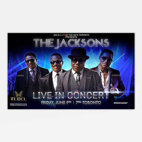 The Jacksons - Hamilton Ontario Graphic design
