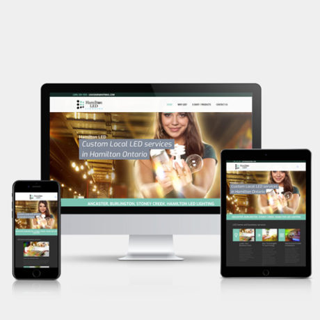 hamilton-led.ca - Hamilton Ontario Website Design