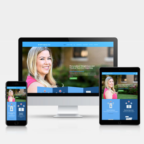 rphealth.com - Hamilton Ontario Website Design